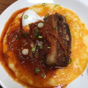 Pork Belly and Grits
